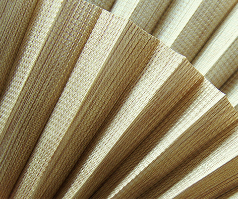 Bamboo P603 - Stofffarben Plissee-Rollos