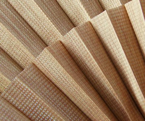 Bamboo P605 - Stofffarben Plissee-Rollos