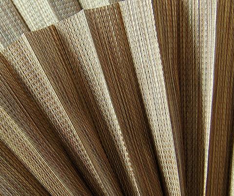 Bamboo P606 - Stofffarben Plissee-Rollos