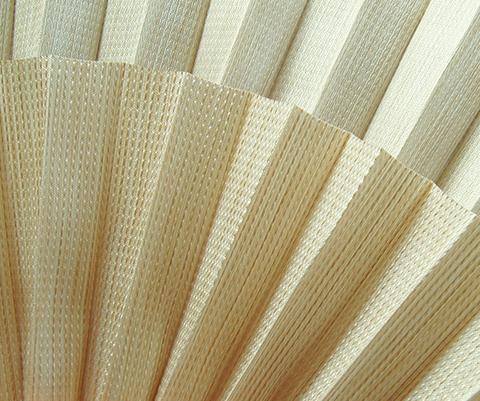 Bamboo P607 - Stofffarben Plissee-Rollos