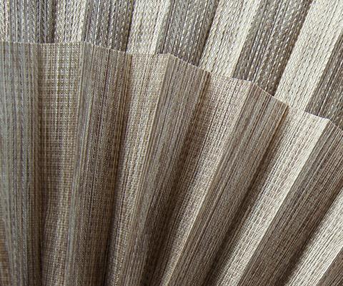 Bamboo P610 - Stofffarben Plissee-Rollos