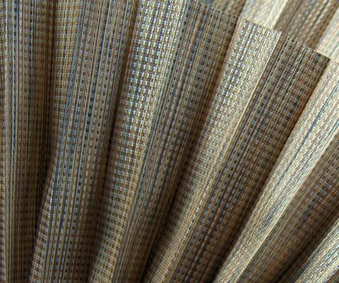 Bamboo P611 - Stofffarben Plissee-Rollos