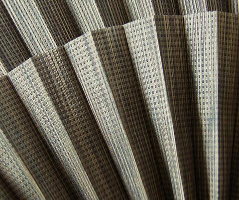 Bamboo P612 - Stofffarben Plissee-Rollos