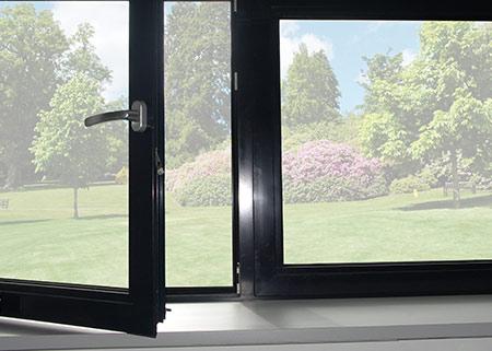 Hoher Komfort bei der Verwendung von Aluminiumfenstern