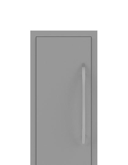 Einflügelige Tür