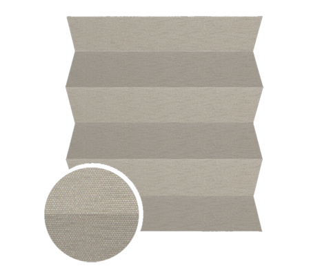 Femi 0530 - Stofffarben Plissee-Rollos