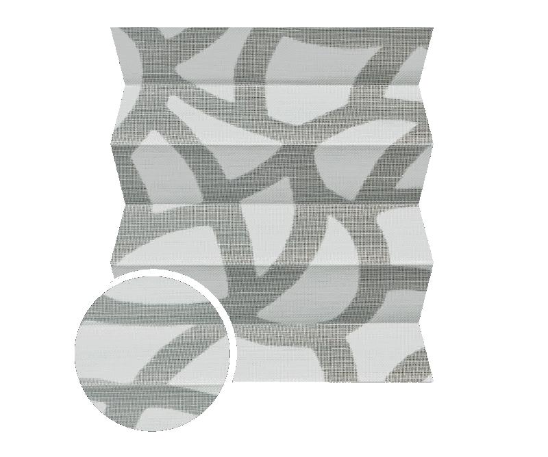 Fiore 2062 - Stofffarben Plissee-Rollos