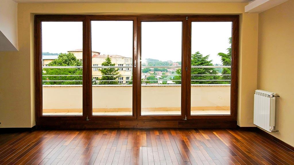 PVC-Fenster für den Balkon