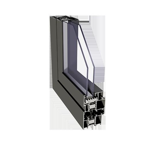 Kaiserliche Aluminiumfenster