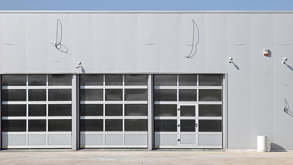 Industrietore mit Sprossen