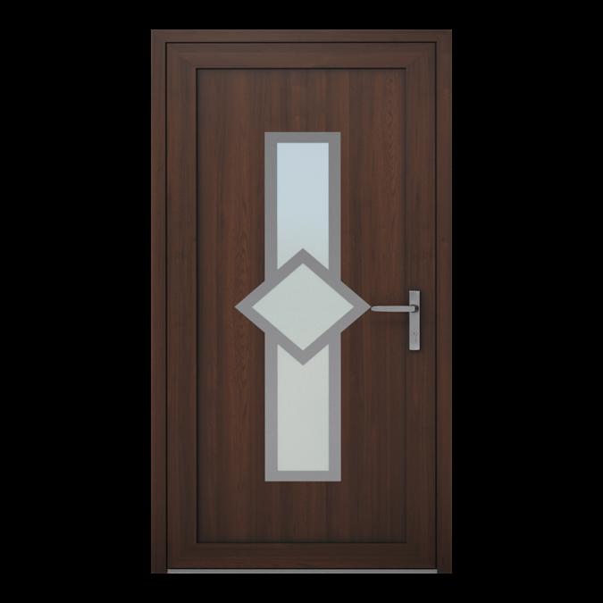 PVC-Außentüren Muster NT-05W