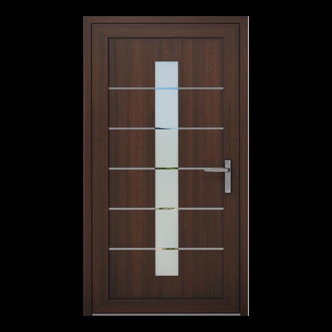 PVC-Außentüren Muster NT-09W