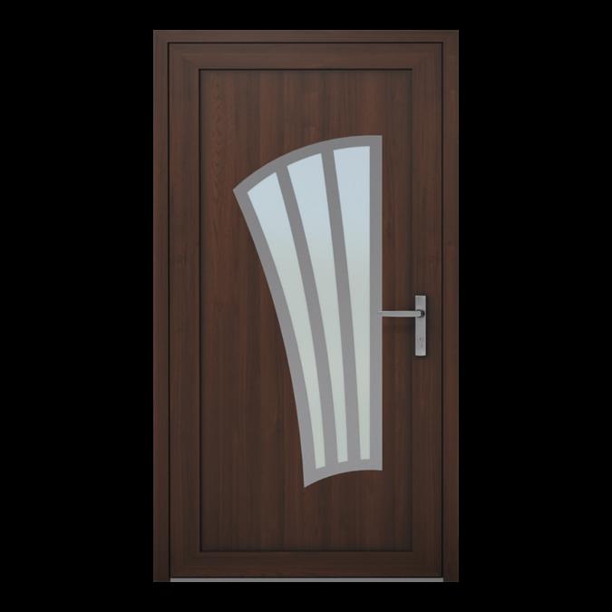 PVC-Außentüren Muster NT-10W
