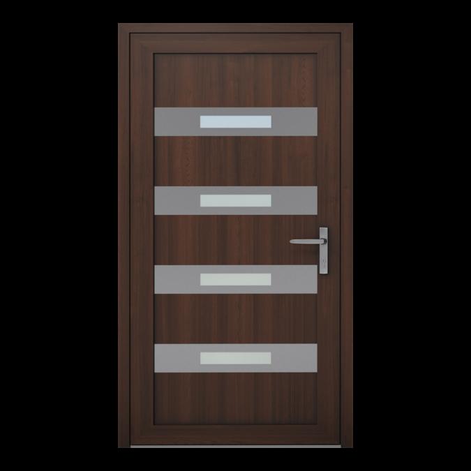 PVC-Außentüren Muster NT-11W