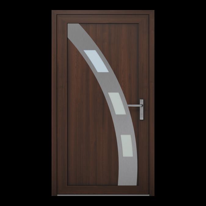PVC-Außentüren Muster NT-12W