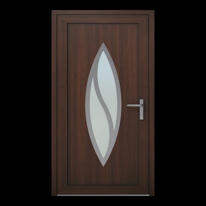 PVC-Außentüren Muster NT-13W