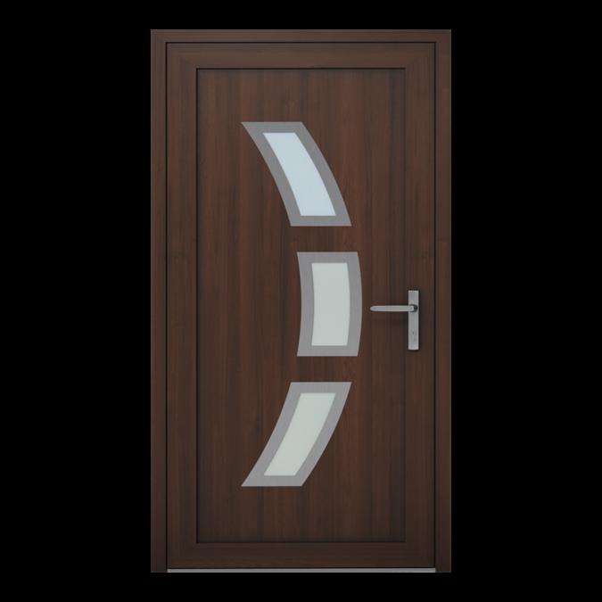 PVC-Außentüren Muster NT-16W