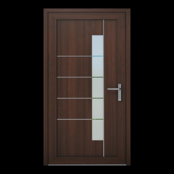PVC-Außentüren Muster NT-19W