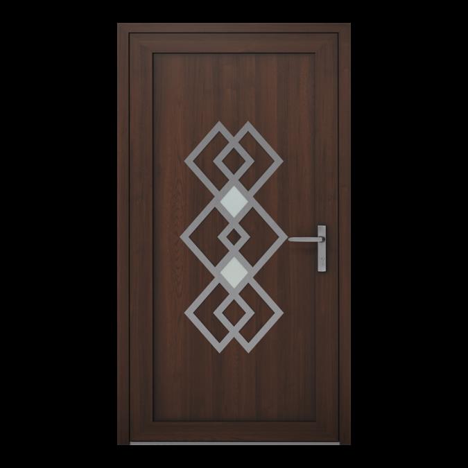 PVC-Außentüren Muster NT-21W