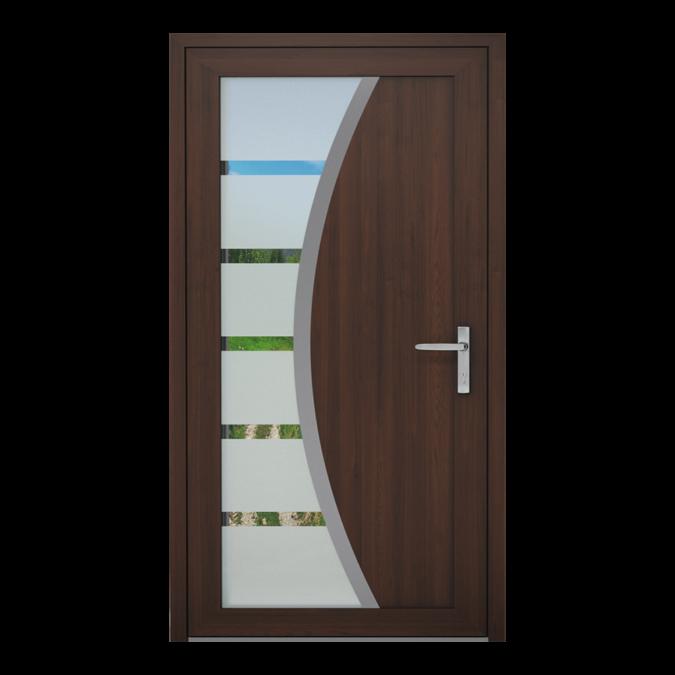 PVC-Außentüren Muster NT-24W