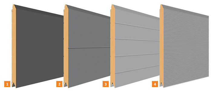 Prägungen der Seitentüren
