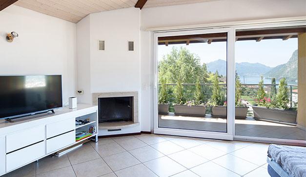 Terrassentüren und Fenster