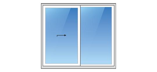 System A zum Öffnen von Terrassentüren und -fenstern
