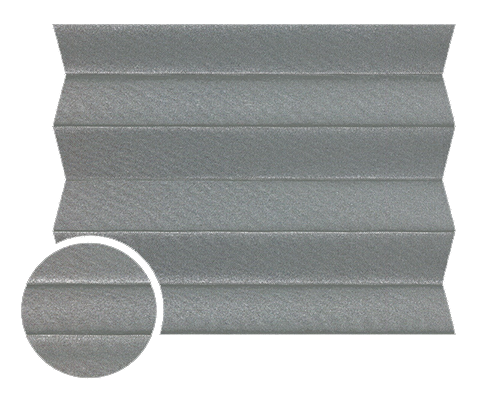 Shine 1041 - Stofffarben Plissee-Rollos