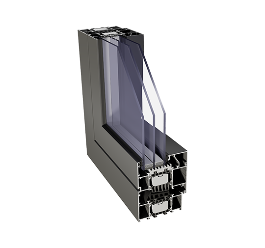 Energiesparende Aluminium-Sternfenster